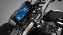 Honda CB650R: dettaglio strumentazione