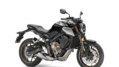 Honda CB650R: forcella Showa SFF a steli rovesciati di 41 mm