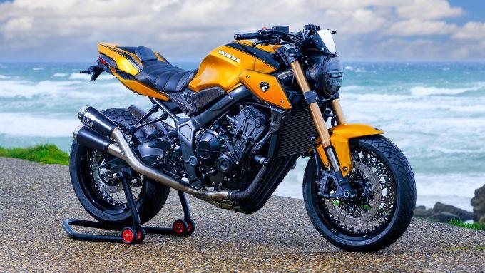 Honda CB650R Karb0ne Edition