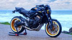 Honda CB650R: la special BMX