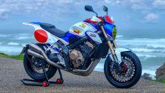 Honda CB650R: la special Flat Tracker