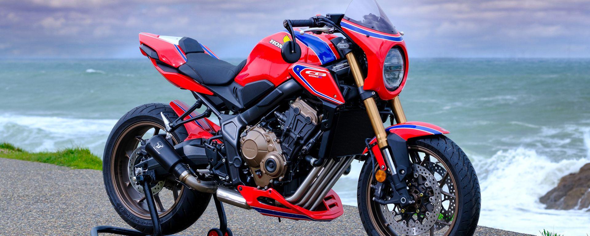 Honda CB650R: la special Four