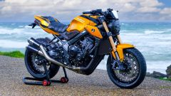Honda CB650R: la special Karb0ne Edition