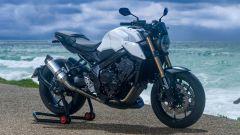 Honda CB650R: la special White Edition