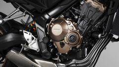 Honda CB650R: motore a quattro cilindri in linea