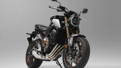 Honda CB650R: pinze freno a 4 pistoncini ad attacco radiale con dischi flottanti