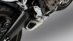 Honda CB650R: scarico