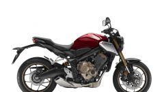Honda CB650R: vista laterale