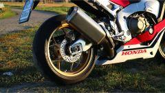 Honda CBR 1000 RR Fireblade SP 2019, il silenziatore