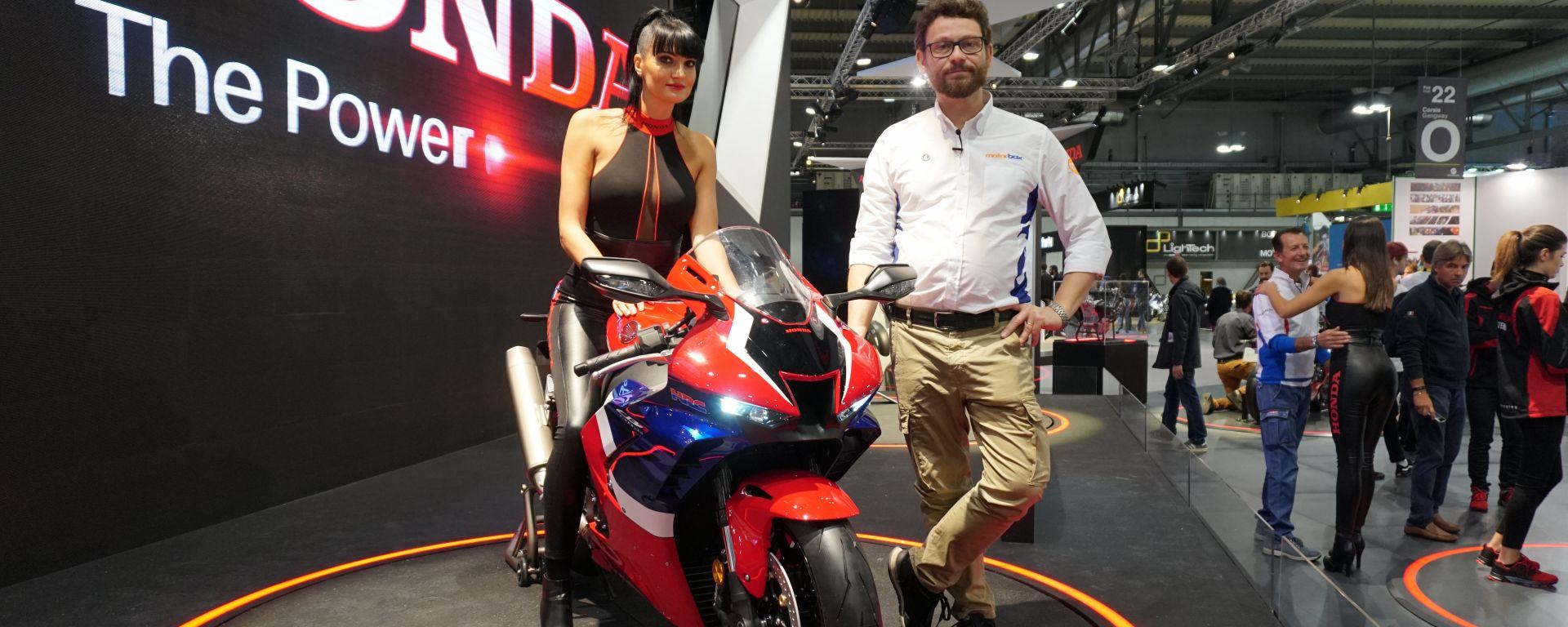 Honda CBR 1000 RR-R Fireblade 2020 a Eicma 2019