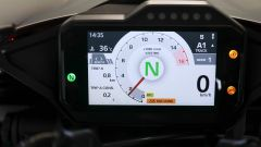 Honda CBR 1000 RR-R Fireblade 2020: dettaglio della strumentazione