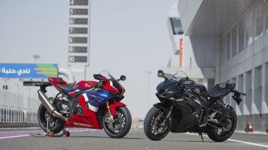 Le due versioni di Honda CBR 1000 2020