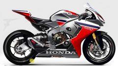 Honda CBR1000RR Fireblade 2017, bozzetto