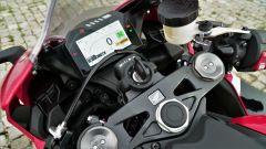Honda CBR1000RR Fireblade 2018: il quadro strumenti digitale