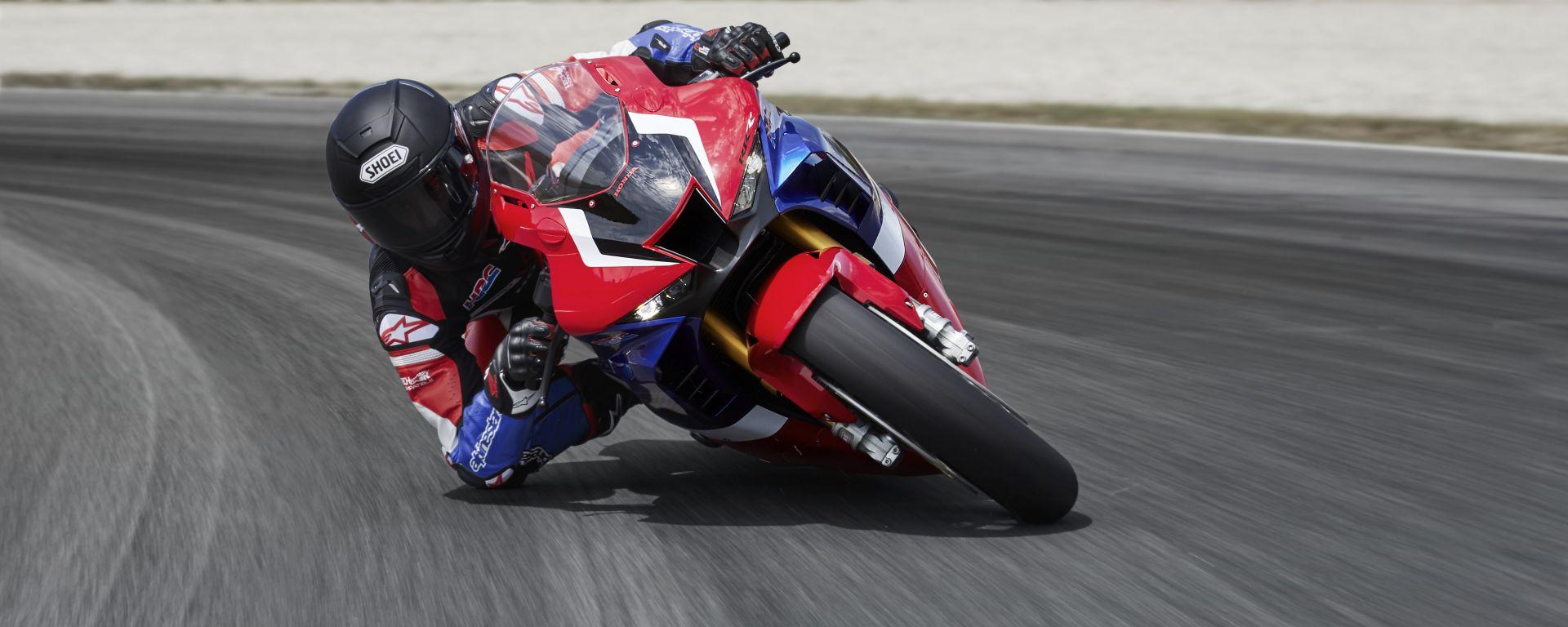 Honda CBR1000RR-R Fireblade in pista