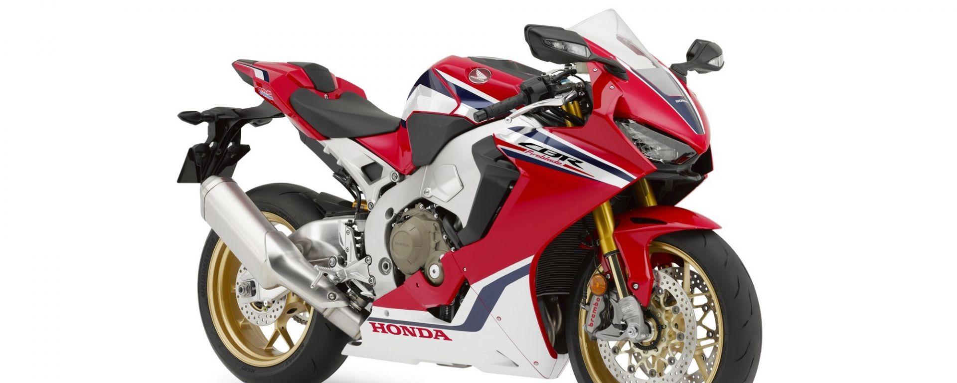 Honda CBR1000RR SP Fireblade 2019 Tricolor