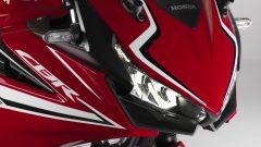Honda CBR500R 2019: dettaglio frontale