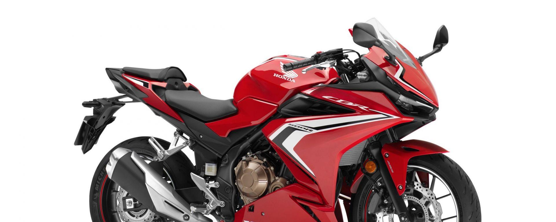 Honda CBR500R 2021: nei concessionari a inizio ottobre