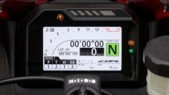 Honda CBR600RR 2021: il display tft