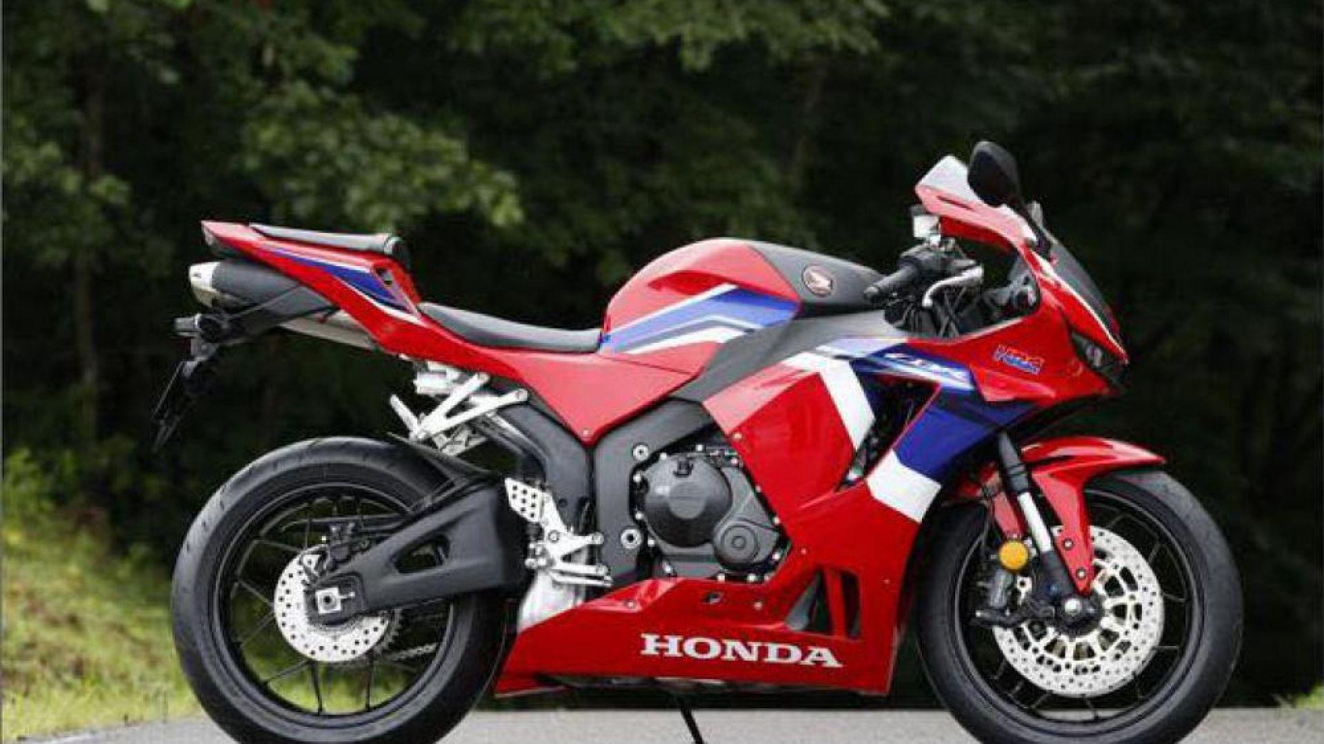 Honda CBR600RR 2021: prezzo, scheda tecnica, foto - MotorBox