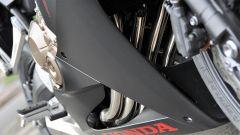 Honda CBR650F: bellissimi gli scarichi color bronzo