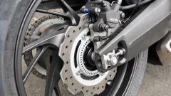 Honda CBR650F: dettaglio del freno posteriore