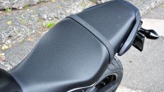Honda CBR650F: dettaglio della sella