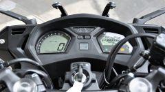 Honda CBR650F: dettaglio della strumentazione