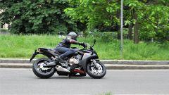 Honda CBR650F è una moto facile e intuitiva