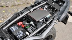 Honda CBR650F: il vano sottosella