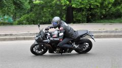Honda CBR650F: in percorrenza offre ampi margini per correggere eventuali errori