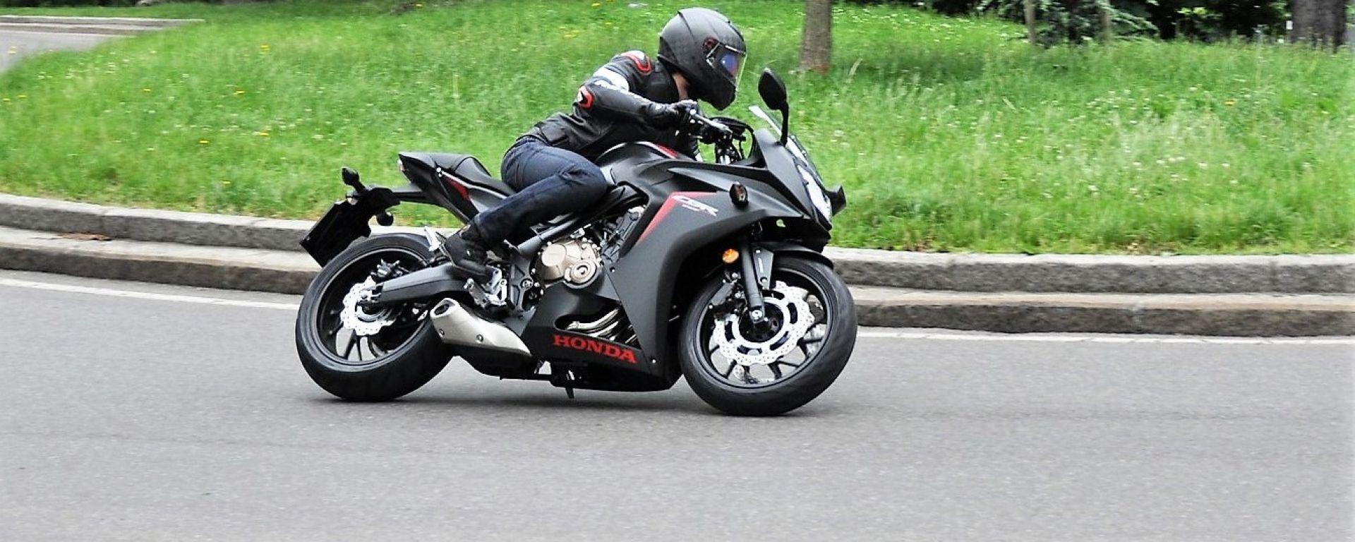 Honda CBR650F: in prova con la rinnovata supersport