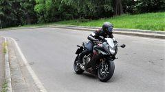 Honda CBR650F: la linea è molto sportiva