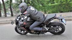 Honda CBR650F: più sacrificata la posizione del passeggero