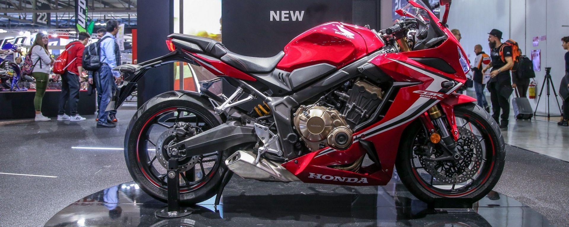 Honda CBR650R, Eicma 2018