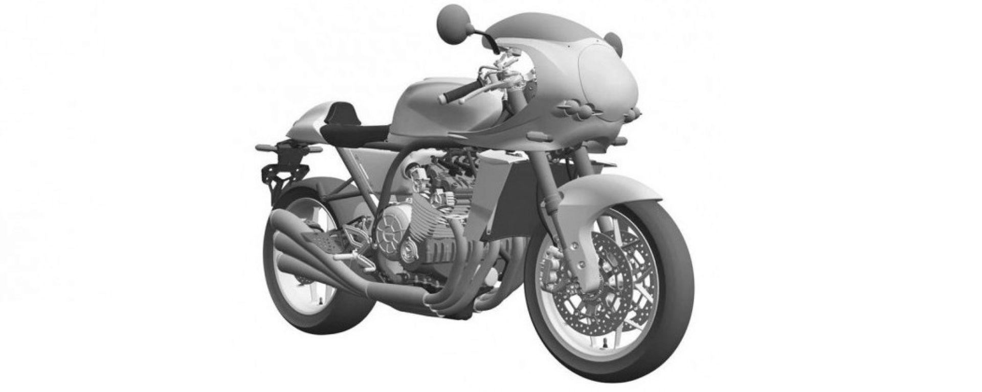 Honda CBX: ecco il disegno brevettato