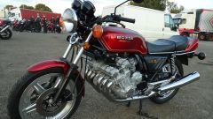 Honda CBX: la prima moto a 6 cilindri