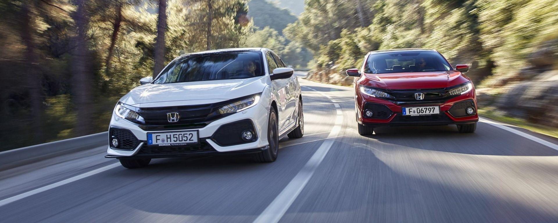 Honda Civic: nel 2018 il 1.6 diesel sarà ancora più green
