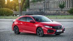 Honda Civic 1.6 i-DTEC: vista 3/4 anteriore