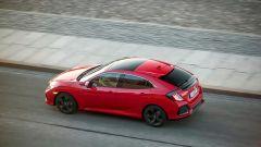 Honda Civic 1.6 i-DTEC: vista dall'alto