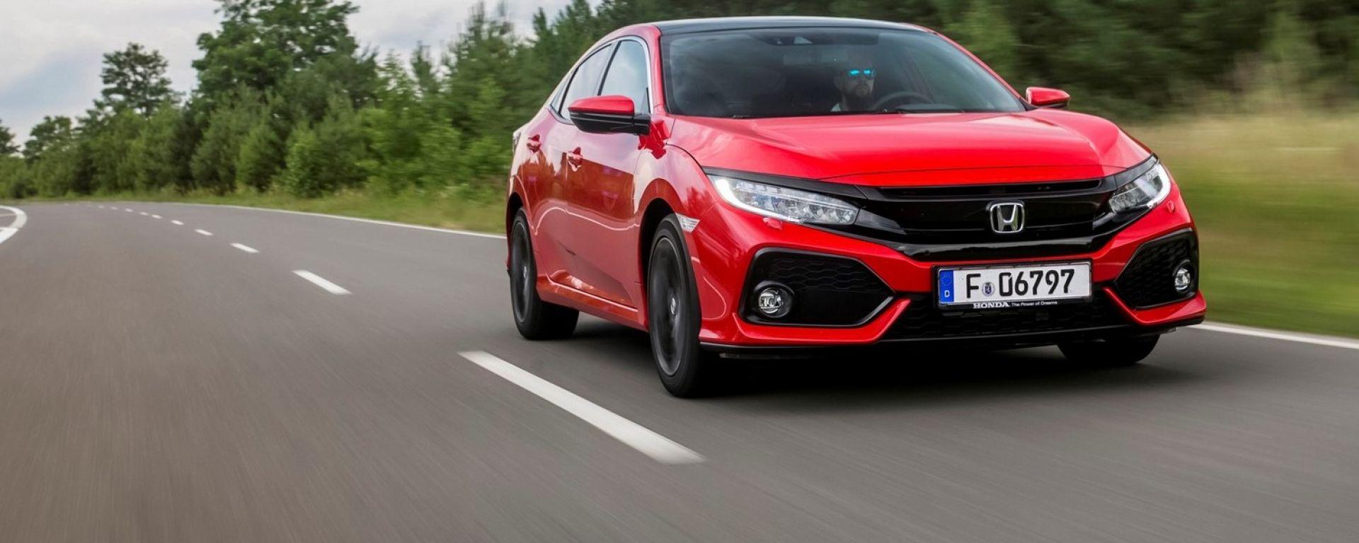 Honda Civic 1.6 i-DTEC: vista frontale