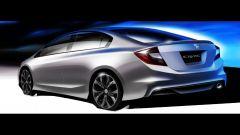 Honda Civic Concept 2012: le foto ufficiali - Immagine: 21