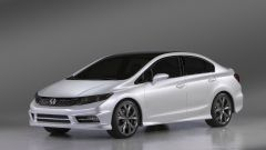 Honda Civic Concept 2012: le foto ufficiali - Immagine: 9