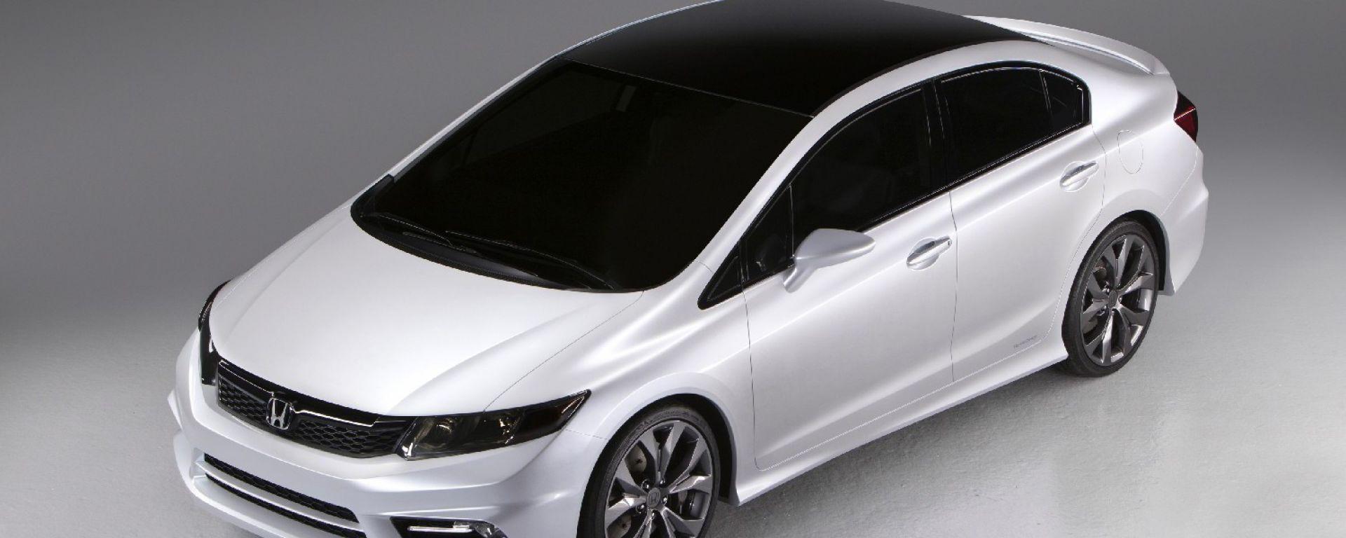 Honda Civic Concept 2012: le foto ufficiali