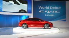 Honda Civic Concept 2012: le foto ufficiali - Immagine: 5