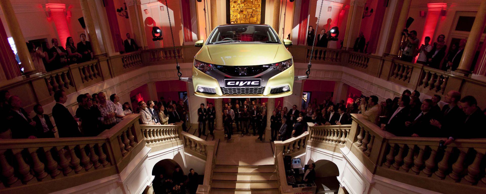 Honda Civic 2012: le prime foto ufficiali
