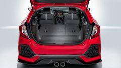 Honda Civic 2017, il bagagliaio