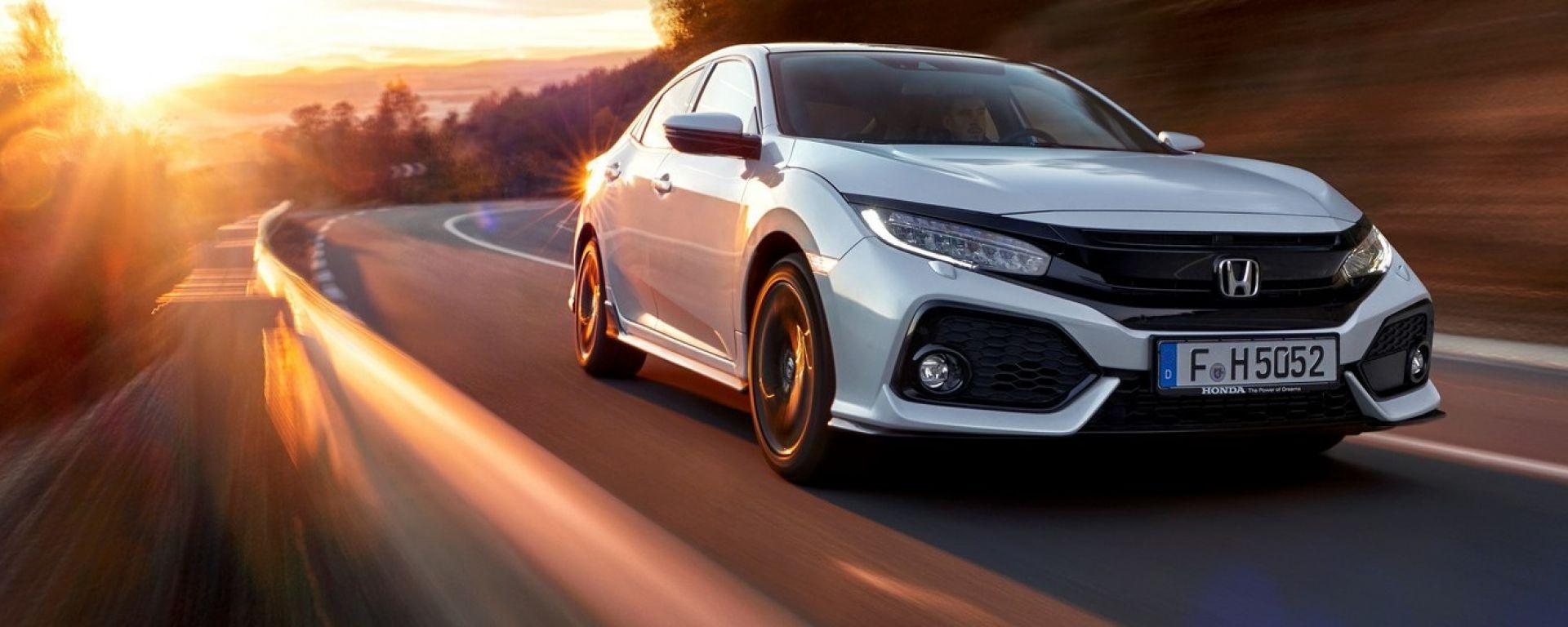 Honda Civic 2017: prova, dotazioni, prezzi