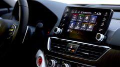 Honda Civic 2022, gli interni reali