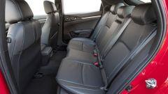 Honda Civic 5 porte 2017: i sedili posteriori